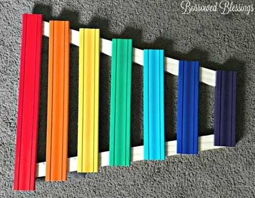 تاثیر رنگها در آموزش موسیقی به کودکان