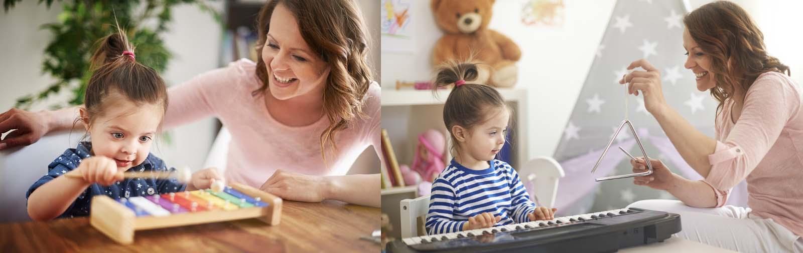 کارگاه موسیقی مادر و کودک